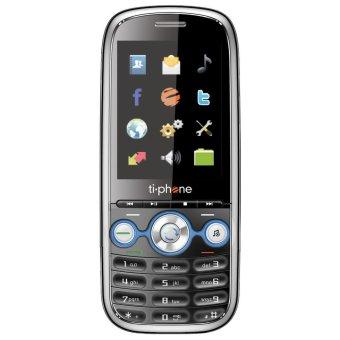 TiPhone T25 - Dual GSM - Hitam