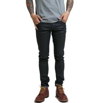 Nudie Jeans Tight Long John Black Navy - Hitam