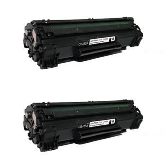 LaserJet Cartridge Toner HP 35A - CB435A - Hitam - 2 Unit