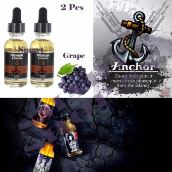 Smart Premium E-Liquid Rokok Elektrik - Grape 2pcs(Purple)