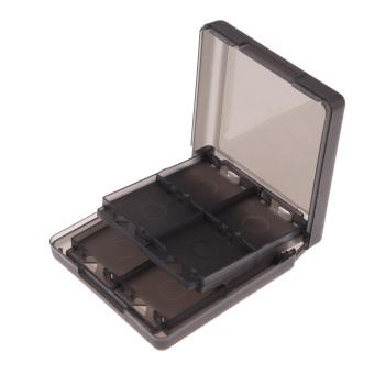 Black 16-in-1 Game Card Case Holder Storage for Nintendo DS DSI LL/XL (Intl)