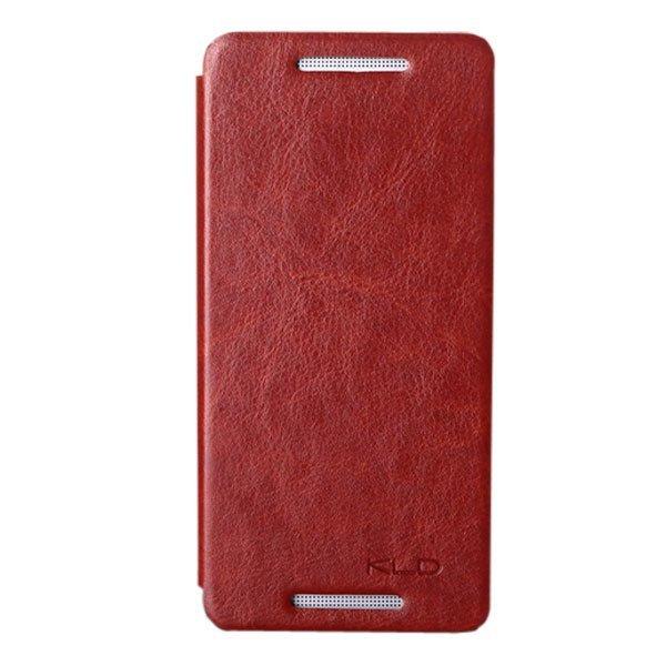 Kalaideng Leather Case HTC One Mini Enland Series - Cokelat