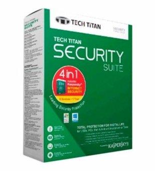 Kaspersky - Tech Titan Security Suite 2016 - 4 in 1