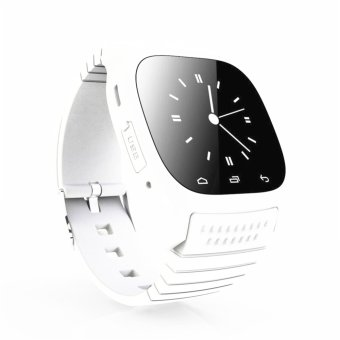 M26 Bluetooth Smart Wrist Watch Phone Mate For IOS Android iPhone /Samsung /LG White (Intl)