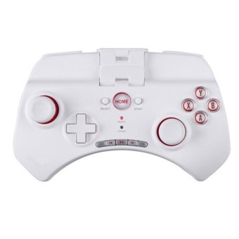 Wireless Bluetooth Game Controller, Portable Games Joystick Gamepad for iPhone/ Android/ Samsung Tablet PC White - Intl