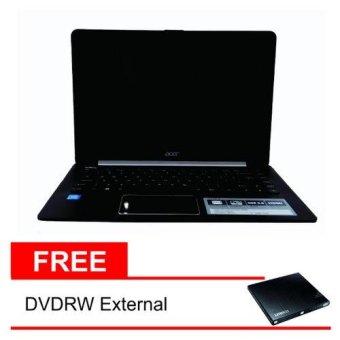harga Acer L1410-C1WA - Intel Celeron DualCore N3050 1.60Ghz - 14 - 2GB - 500GB - Linpus - Black + Free DVDRW(Black) Lazada.co.id