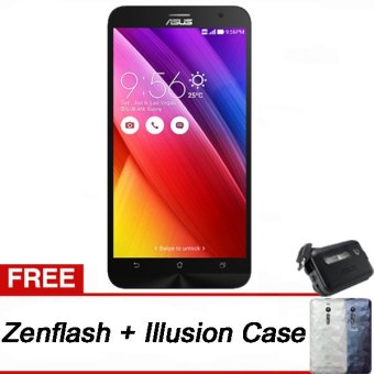 Asus Zenfone 2 ZE550ML-1B054ID - 16GB - Putih + Gratis Zenflash + Illusion Case