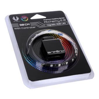 Bitfenix Magnetic RGB LED 30cm/15 LEDs + Control Box - Black