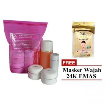 HN Cream Paket Original 30gr + Masker Wajah Emas 24K ...