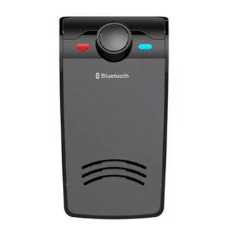 Wireless Bluetooth Handsfree Speaker Car Music Player for Smartphone - BT-828 - Hitam