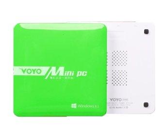 Voyo Mini PC Desktop TVBox Intel Quad Core 64bit Green