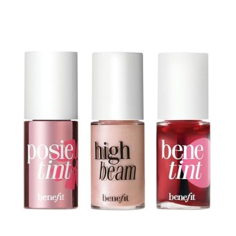Benefit Feelin Cheeky - High Beam Posie Tint Bene Tint Set - Travel Size - 3 Pcs