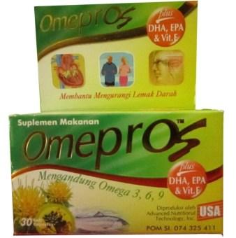 harga Omepros Suplemen Makanan 30 Softgel Lazada.co.id