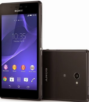 Sony Xperia M4 Aqua 4G LTE (E2353) Single SIM - 8GB - Hitam