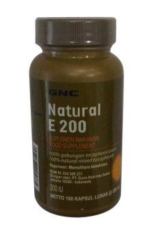 GNC Natural E 200 - 100 kapsul lunak