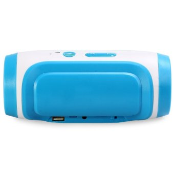 JY - 3 Outdoor Portable Wireless Bluetooth 3.0 Speaker Support FM Handsfree TF Card USB 3.5mm AUX Input (Blue) (Intl)