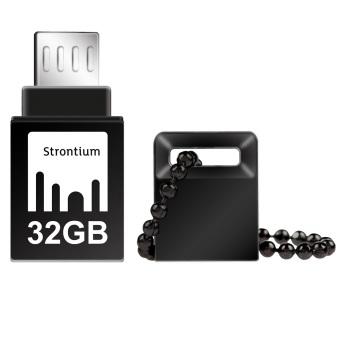 Strontium Nitro OTG USB Flash Drive 32GB - SR32GBBOTG2Z - Hitam