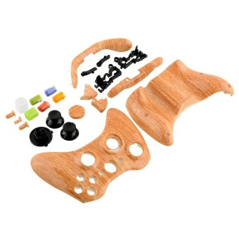 Aukey Grain Texture Shell Cover for XBOX 360 Wirelsee Joystick Plast