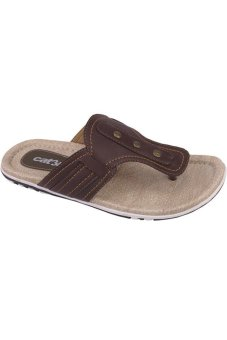 Catenzo Sandal Pria - Coklat