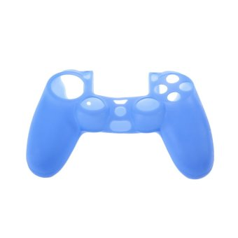 Silicone Rubber Case Skin Cover For Sony PS4 Controller Grip Handle Console
