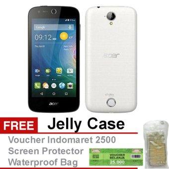Acer Liquid Z320 - 8GB - Putih Free + Voucher Indomaret 25000 Jelly Case Screen Protector Waterproof Bag