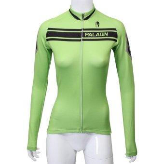 PALADIN 354 SPORT Cycling Women's Long Sleeve Jersey Green S - Intl