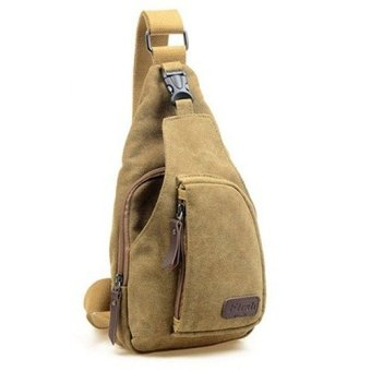 harga Tas Bodypack Bag Selempang Pria Bahan Jeans - Khakis Lazada.co.id