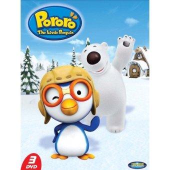 Emperor Edutainment DVD Pororo The Little Penguin Volume 1 (3DVD)