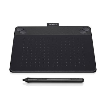 Wacom Pen & Touch Tablet Small - Intuos Photo - CTH-490/K2-CX - Hitam