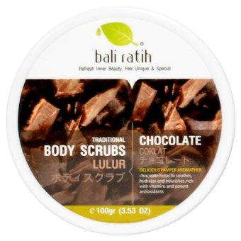 Bali Ratih - Body Scrub 110mL - Chocolate