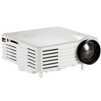 JIANGYUYAN Vivibright Mini Portable 100 Lumens Digital LED Projector(White, UK Plug) (Intl)