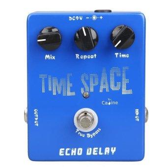 HAOFEI Delay Guitar Pedals CP-17 Echo Delay True Bypass Blue 600ms Max - INTL