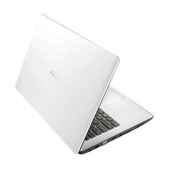 Asus X453MA-WX320B WX321B - 14 Inch - Intel N2840 - 2GB RAM - Putih