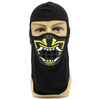 Outdoor Military Motorcycle Ski Cycling Protection Full Face Mask BR-022- Intl