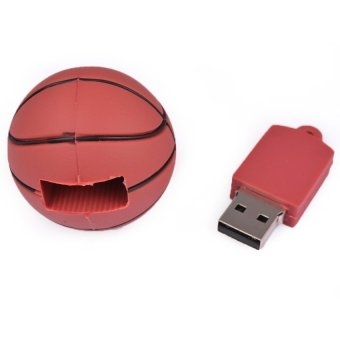 S and F Basketball 32GB USB Flash Drives Memory Stick Computer Pen Drives (Brown) - Intl