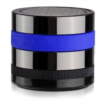 Wireless Speaker Bluetooth Mini Portable Speaker MP3 Player for phone PC Tablet (Blue Black) (Intl)