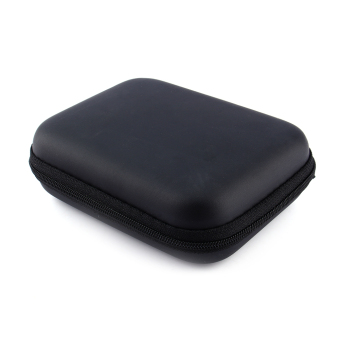 Zip-up USB EVA Carry Case Pouch Bag For 2.5'' HDD Hard Drive Disk PC GPS jk (Black) - intl