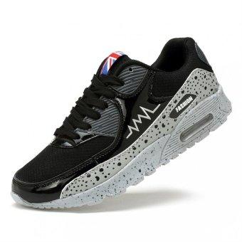 PATHFINDER Men's Couple Sports Elastic Running Shoes Lovers (Gray) - Intl