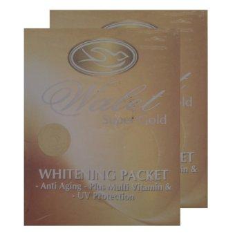 Gold Whitening Packet Memperbaiki Warna Kulit - 2pcs