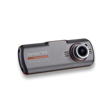 Super Night Vision Full HD 1080P Mini Car Recorder With 175 WDR Degree Ultra-wide Angle Design DVR(Black) (Intl)