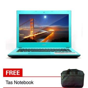 Acer E5 473G-5566 - i5-4210U - RAM 4GB - HDD 1TB - VGA Nvidia 2GB GT920M - Biru
