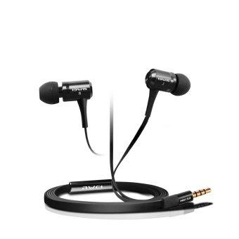 BELK Awei Aluminum Alloy Super Bass Earphone with Microphhone (Black) (Intl)