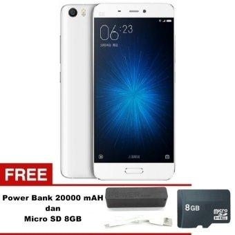 Xiaomi Mi 5 - 32GB - Putih + Free Powerbank 20000mAh - MMC 8GB