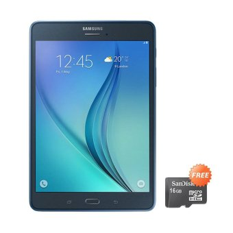 Samsung Galaxy Tab A 2016 Hitam + free Micro SD 16GB