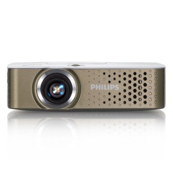 Philips Mini Proyektor PICO PPX 3414 - White Gold