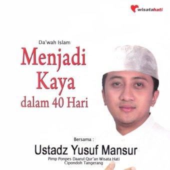 Virgo Multi Cipta Ustadz Yusuf Mansur - Menjadi Kaya Dalam 40 Hari