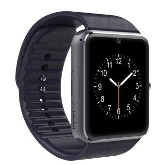 Bluetooth Phone Smart Watch Wrist Health Phone With NFC And Sim Card (Black) (Intl)