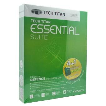 Kaspersky Tech Titan Essential Suite Anti Virus - 3 User 2016
