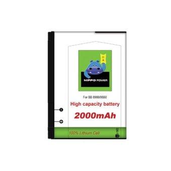 Hippo Battery BlackBerry Javelin 8900 - 2000mAh - Putih terpercaya