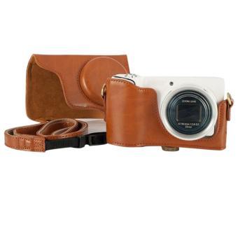 Vococal Detachable Cover Bag untuk Samsung Galaxy Camera EK-GC100 - Cokelat